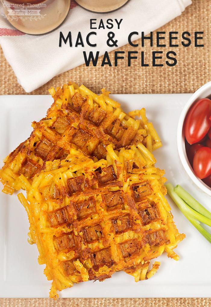 15 Waffle Iron Recipes - Cut Side Down | Waffle Iron Recipes, Waffle Iron Recipes Easy, Waffle Iron Recipes Breakfast, Waffle Iron Recipes Dinner, Easy Recipes, Easy Dinner Recipes