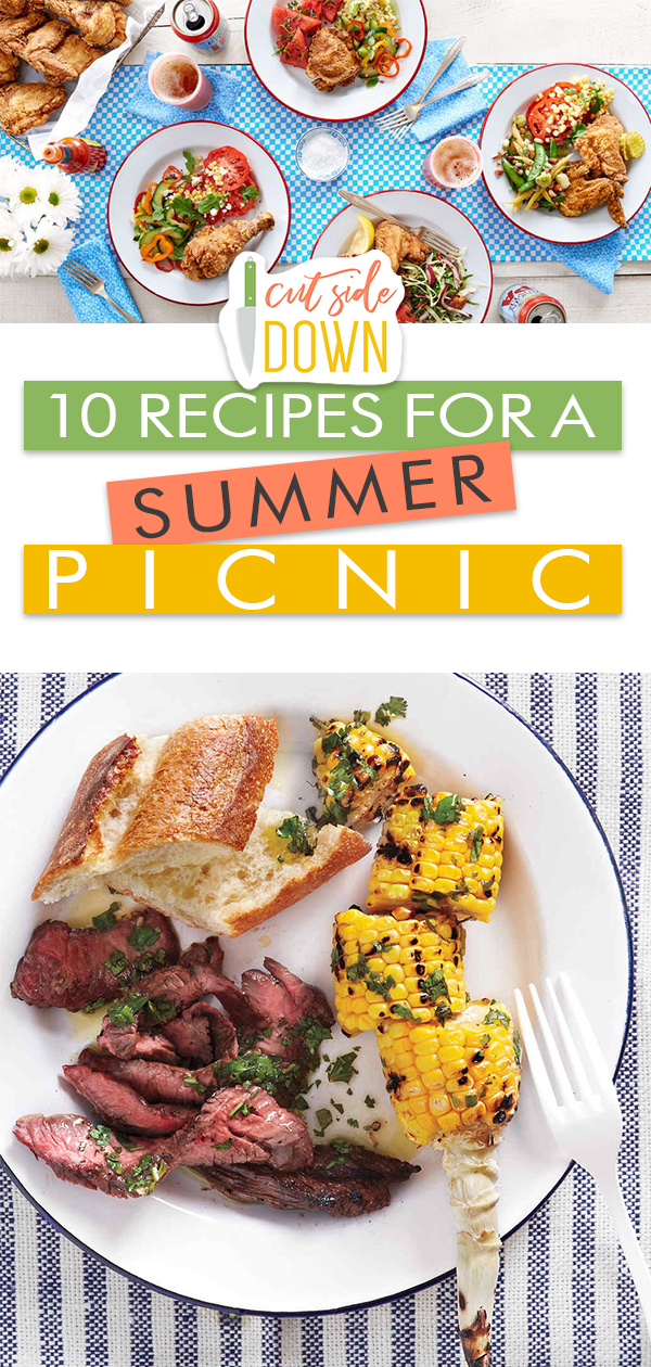 8 Recipes for a Summer Picnic| Picnic Food Ideas, Picnic Food, Picnic Food Ideas for a Crowd, Picnic Food Ideas for Kids, Picnic Food for Two
