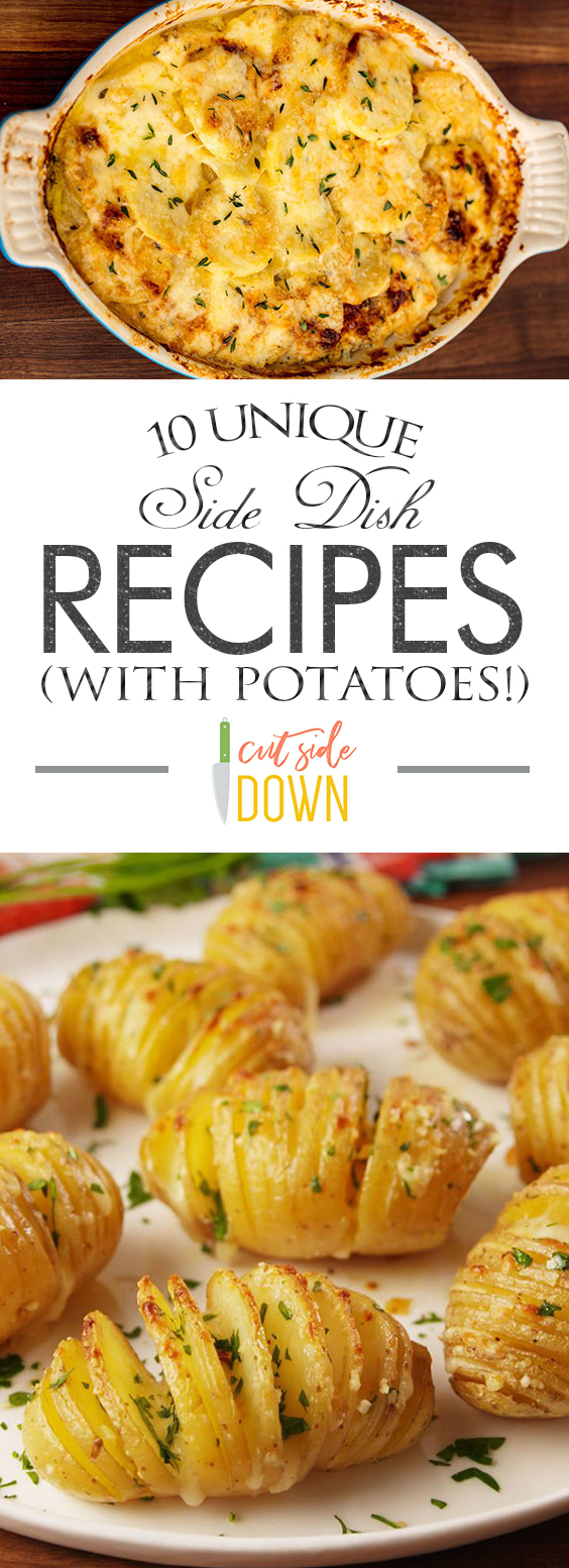10 Unique Side Dish Recipes (With Potatoes!) Side Dish Recipes, EAsy Side Dish Recipes, Easy Recipes, Easy Dinner Recipes, Side Dishes Easy, Recipes