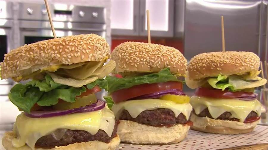 Burger Recipes How To Make The Best Burgers Ever Cut Side