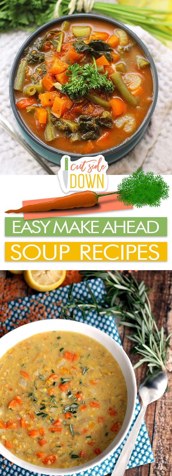 Easy Make Ahead Soup Recipes| Soup Recipes, Soup Recipes Easy, Easy Recipes, Soup Recipes Healthy, Soup Recipes Slow Cooker