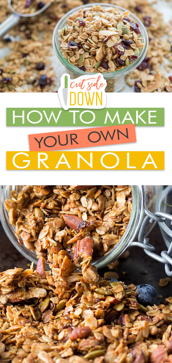 How to Make Your Own Granola! | Granola Recipe, Granola Recipe Homemade, Granola Recipe Easy, Granola Recipe Bars, Granola Recipe Breakfast