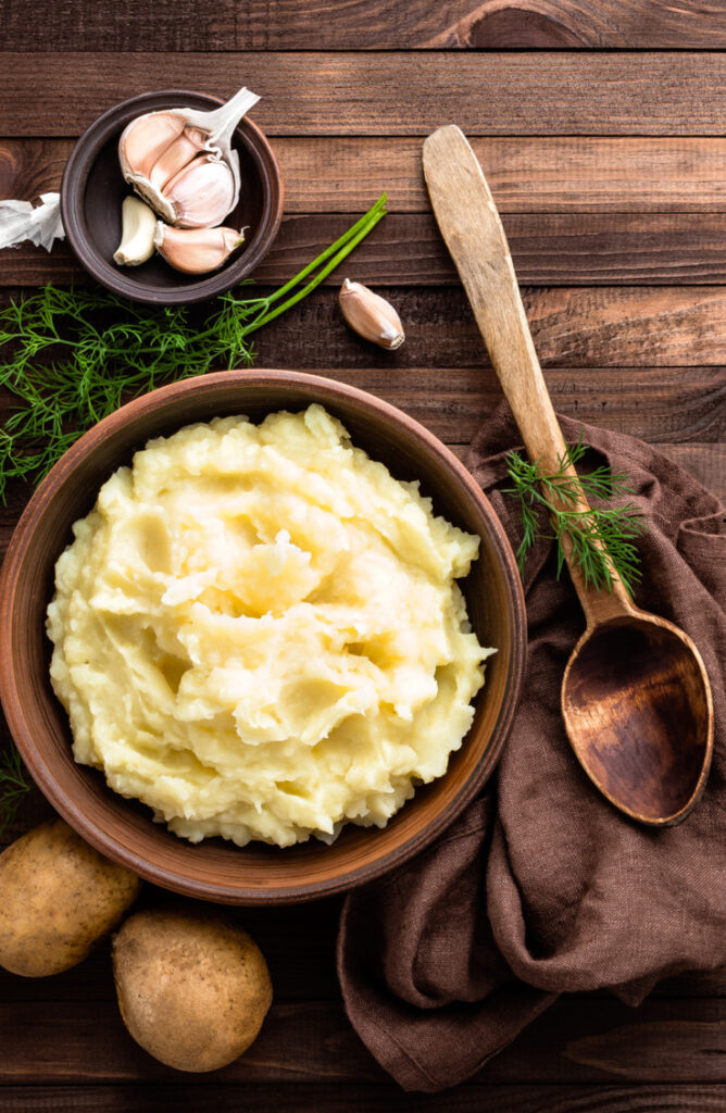 When it comes to side dishes, the potato is king of them all. Not only are these potato side dishes easy, but they are so versatile. This sour cream mashed potato recipe is heavenly!