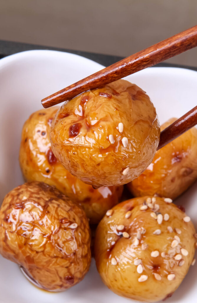When it comes to side dishes, the potato is king of them all. Not only are these potato side dishes easy, but they are so versatile. This recipe for Korean Braised Potatoes is delicious!