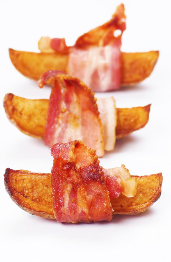 When it comes to side dishes, the potato is king of them all. Not only are these potato side dishes easy, but they are so versatile. Check out this recipe for bacon wrapped russet wedges.