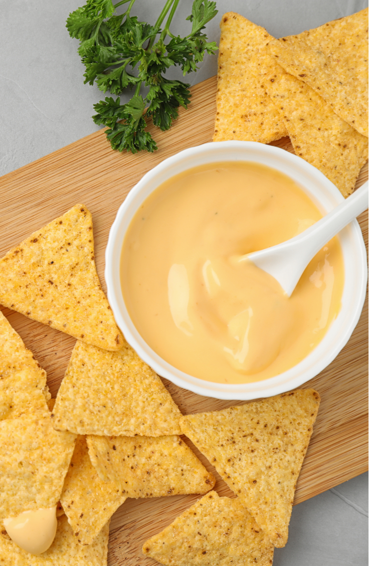 This nacho cheese sauce recipe will knock your socks off and leave your guests impressed! Easy to do, and tastes great! This nacho cheese sauce is a classic!