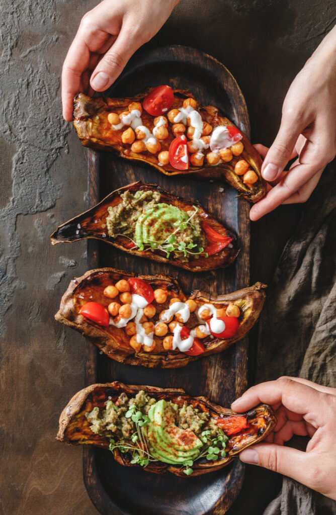 No gathering is complete without some delicious potatoes! Whether you're offering baked potatoes, mashed potatoes, or even sweet potatoes, we've the ultimate list of potato bar ideas!