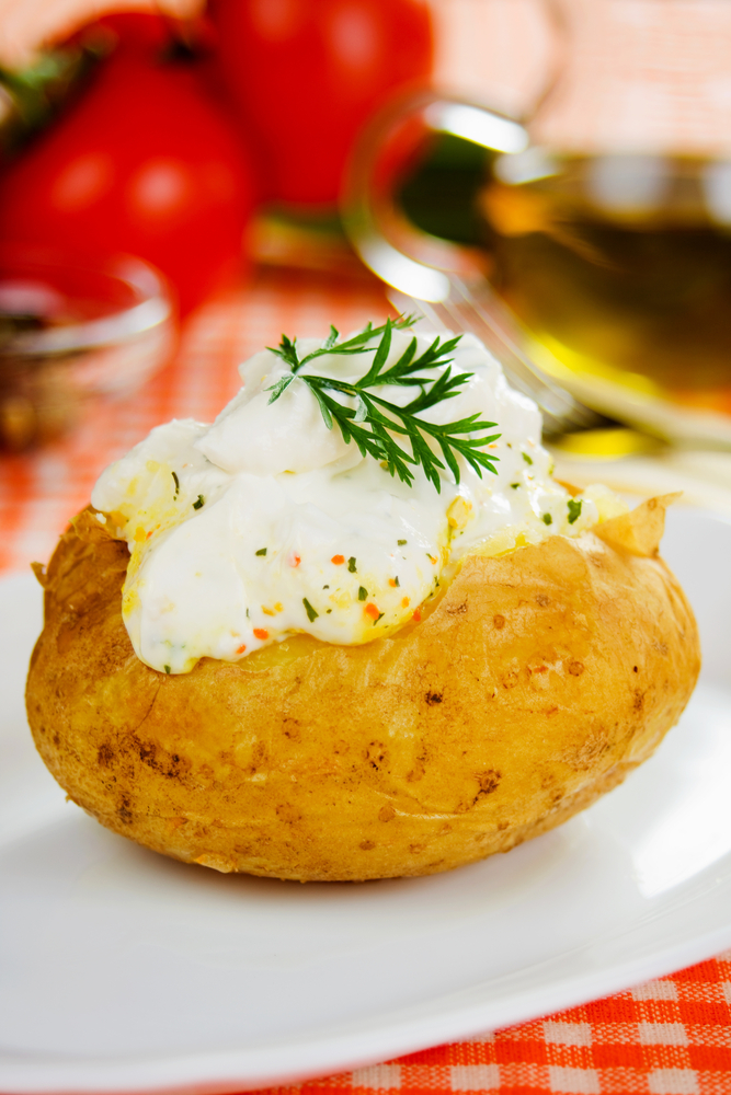 Whether you opt for gravy, alfredo, or ranch, you can't go wrong with having multiple sauces for your potato bar! Whether you're offering baked potatoes, mashed potatoes, or even sweet potatoes, we've the ultimate list of potato bar ideas!