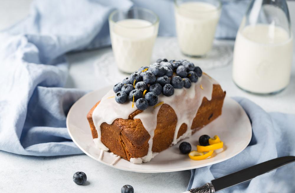 Dessert Recipes: Lemon Blueberry Bread