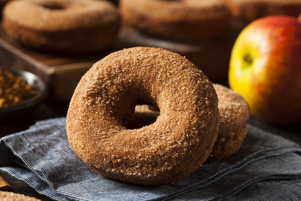 FALLing For Apple Cider Doughnuts