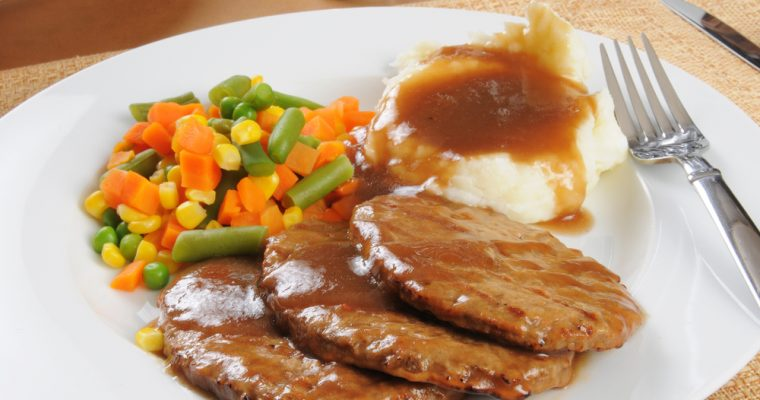 Recipes For Dinner: Salisbury Steak