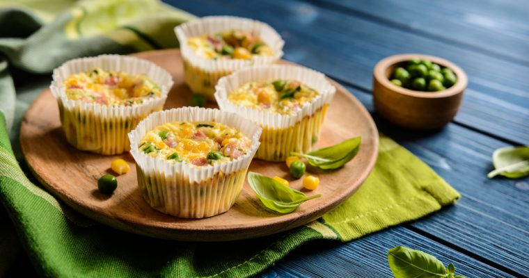 Breakfast: Scrambled Egg Muffins