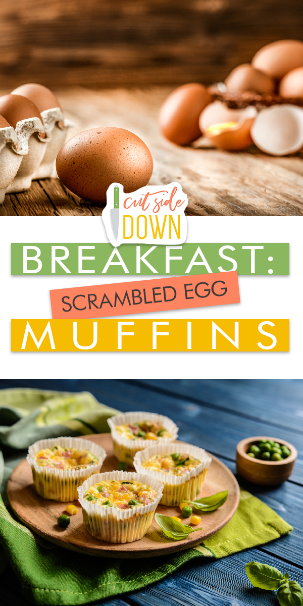 Scrambled Egg Muffins | Scrambled Egg Muffins for Breakfast | Scrambled Egg Muffin Recipes | Breakfast Recipes | Easy Breakfast Recipes | Scrambled Egg Muffin Recipe Ideas