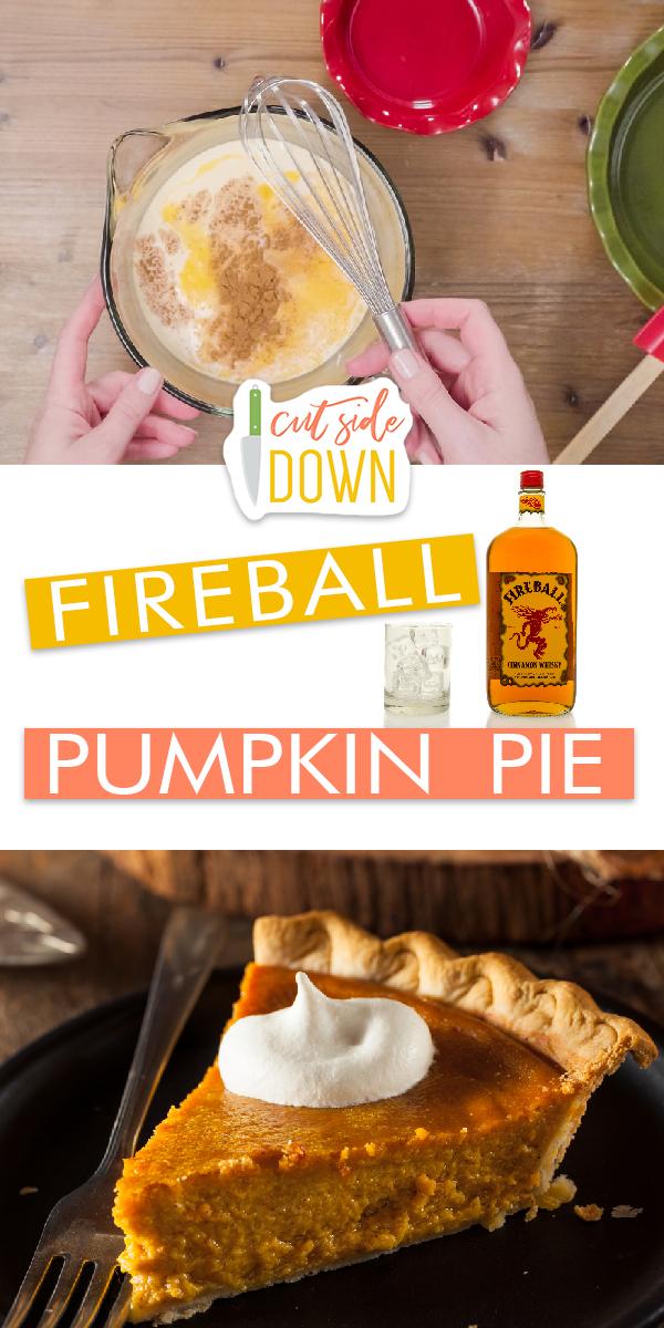 Fireball Pumpkin Pie Recipe | Pumpkin Pie Recipe | Fireball Pumpkin Pie | Pumpkin Pie Recipe Ideas | Fireball Pumpkin Pie Recipe Ideas | Dessert Ideas | Fireball Dessert
