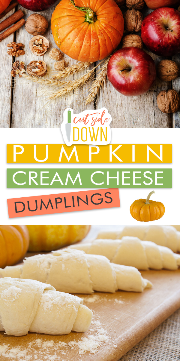 Pumpkin Cream Cheese Dumplings | Pumpkin Cream Cheese Dumpling Recipes | Cream Cheese Dumplings | Pumpkin Dessert | Pumpkin Dessert Recipes | Dumpling Recipes