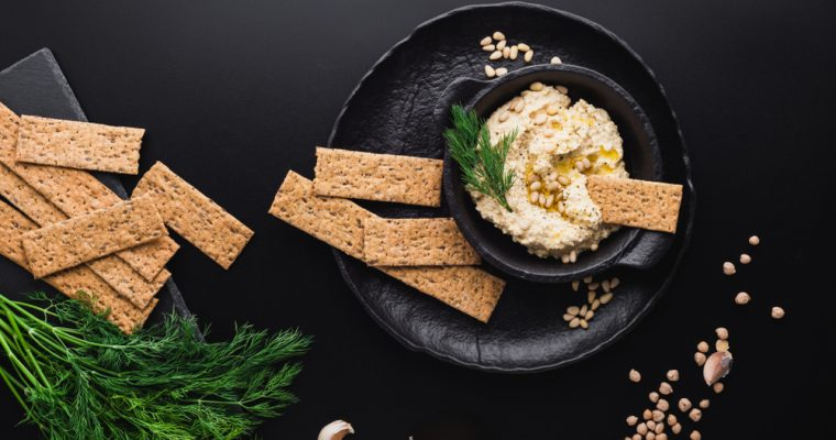 Keto Butter Crackers: When Crumbs Count