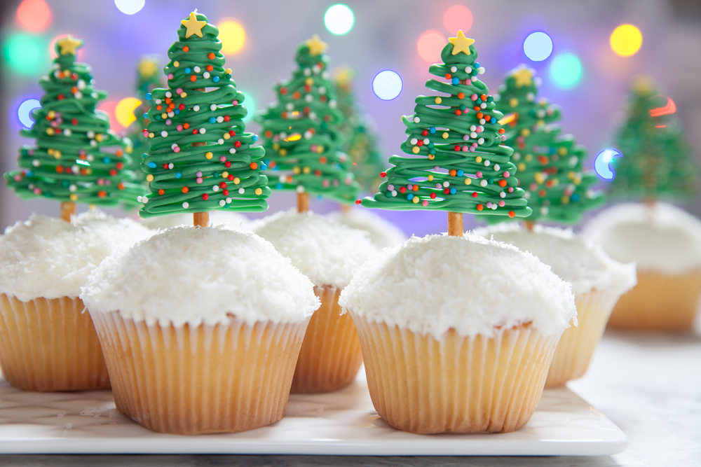 Easy Christmas Cupcakes Ideas.Christmas Cupcake Ideas Cut Side Down Recipes For All