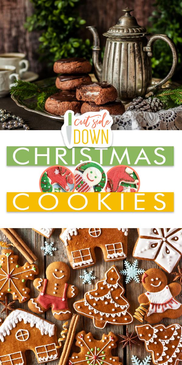 Christmas Cookies | Christmas Cookie Ideas | Christmas Cookie Recipes | Christmas Cookie Recipe Ideas | Christmas | Christmas Treats | Cookies | Sugar Cookies | Cookie Recipes