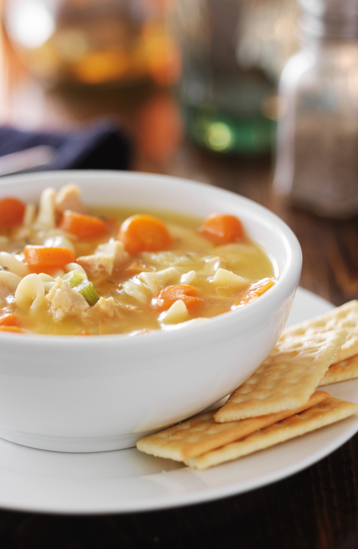 Homemade Chicken Noodle Soup That's As Good As Your Grandma Made