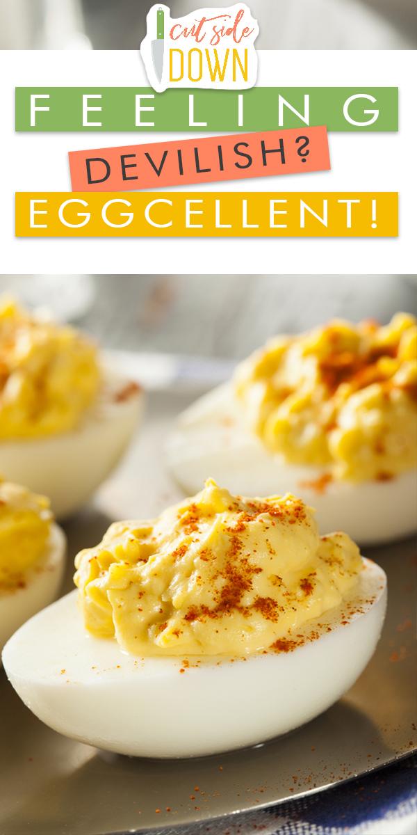 devilish | devilish deviled eggs | eggs | deviled eggs | recipes | deviled egg recipes | sides | egg recipes