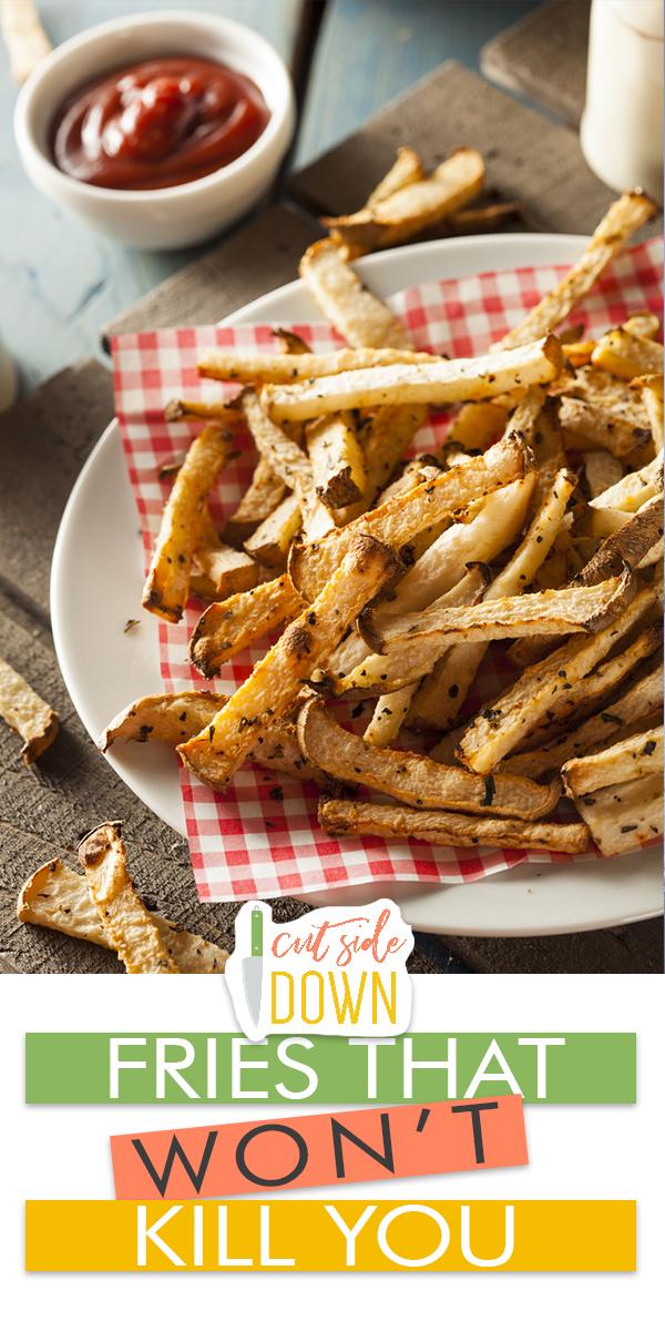 fries | healthy fries | jicama | jicama fries | recipes | fry recipes | recipe for fries | healthy alternative | sides