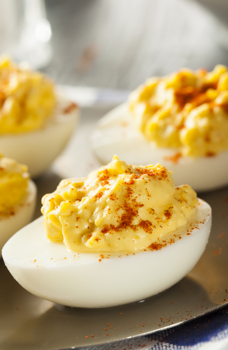 devilish | devilish deviled eggs | eggs | deviled eggs | recipes | deviled egg recipes | sides | egg recipes