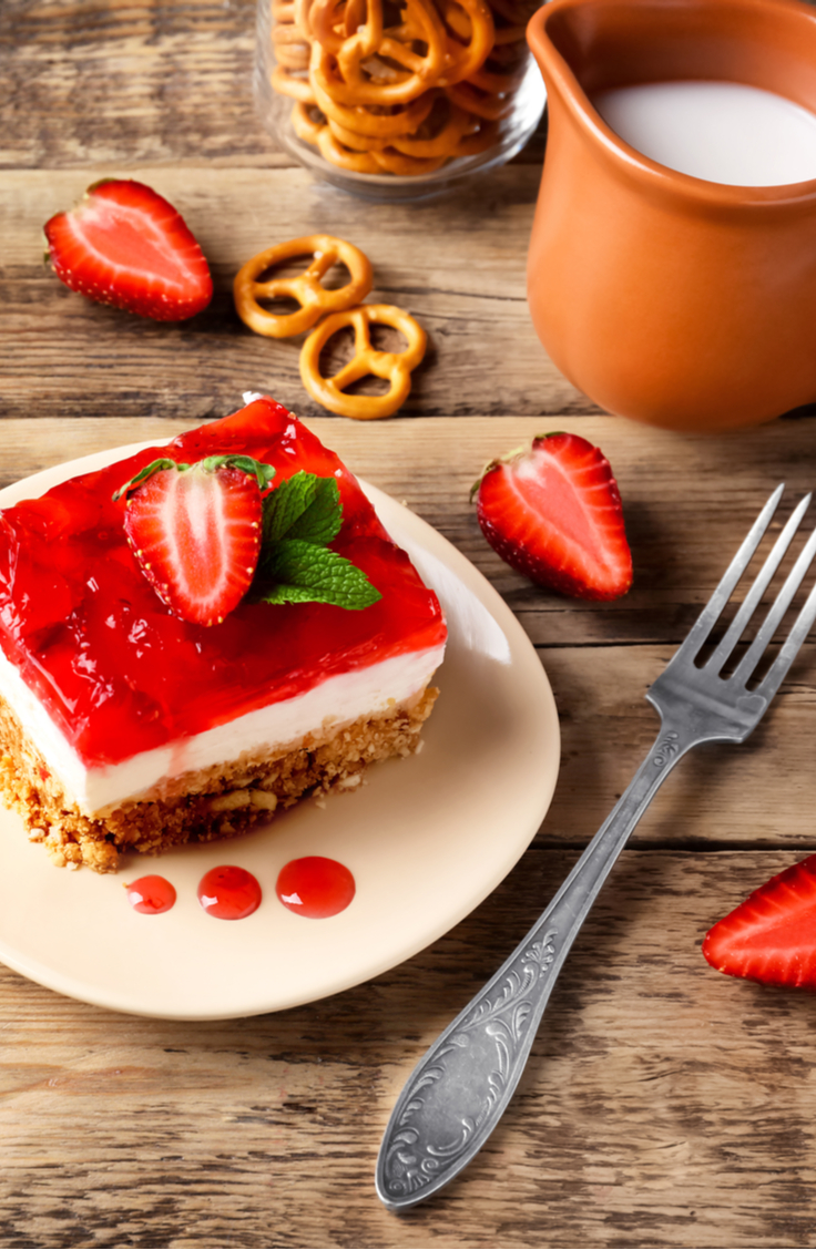 Strawberry Pretzels Forever