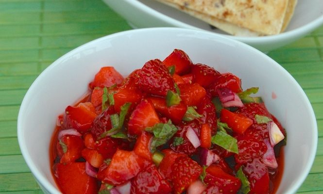 Strawberry Salsa: Sweet And Sassy