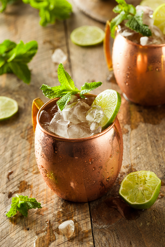 Stay Chill With Frozen Moscow Mules