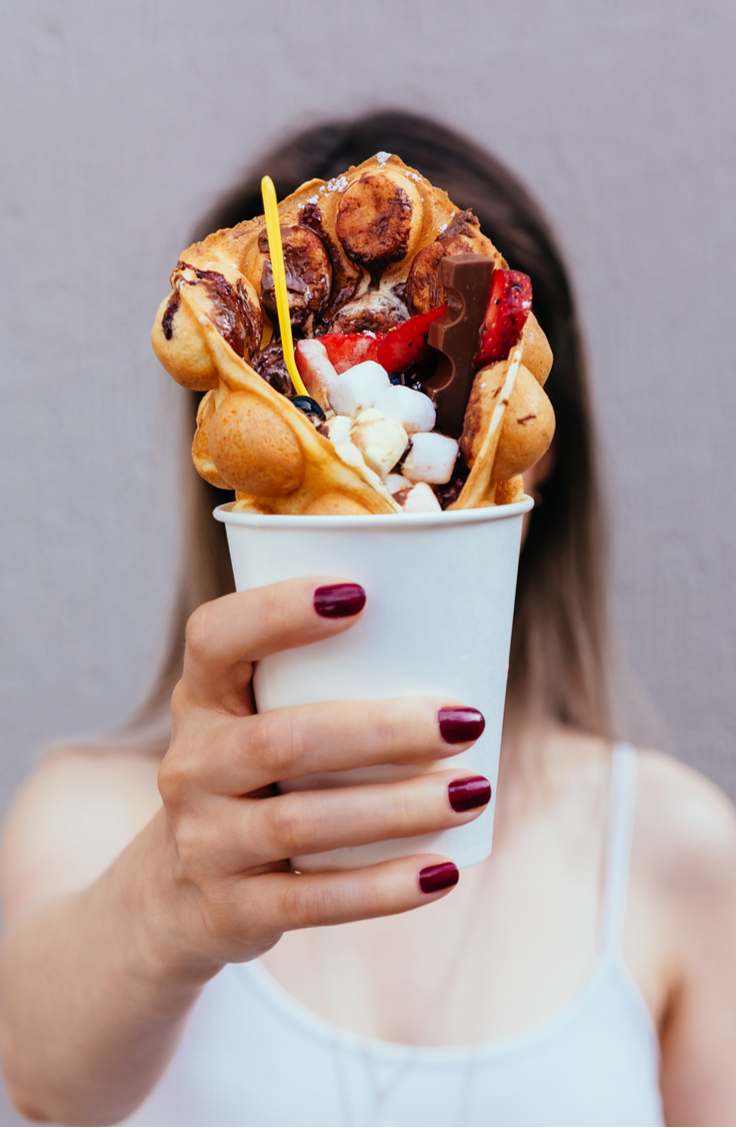If you haven't seen the hype around bubble waffles, you're not alone. However, if you love breakfast food, it's time you hop on the bubble waffle bandwagon! You can even use them for dessert!