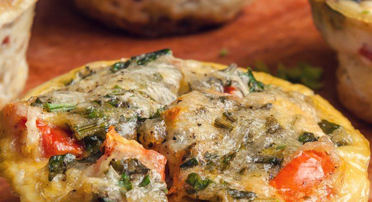 Breakfast On The Go: Omelette Muffins