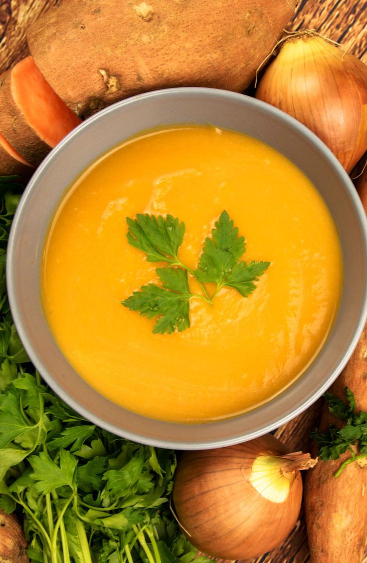 orange soups | soups | recipes | soup recipes | orange soup recipes | fall recipes | recipes