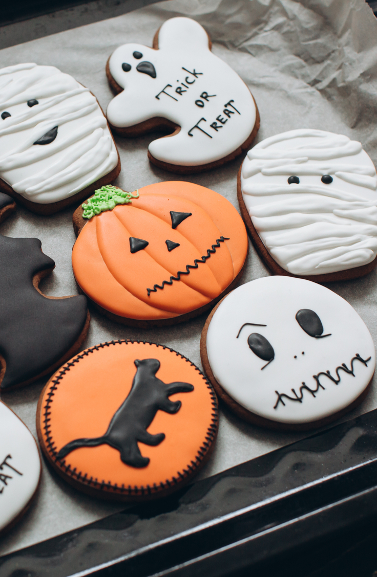 Halloween sugar cookies | Halloween | sugar cookies | recipes | sugar cookie recipe | Halloween recipes