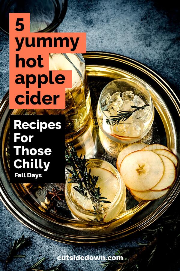5 yummy hot apple cider recipes