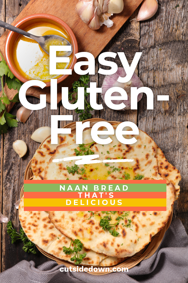It can be hard to find good bread when you're gluten-free. You need to try this easy gluten-free naan bread that's delicious!