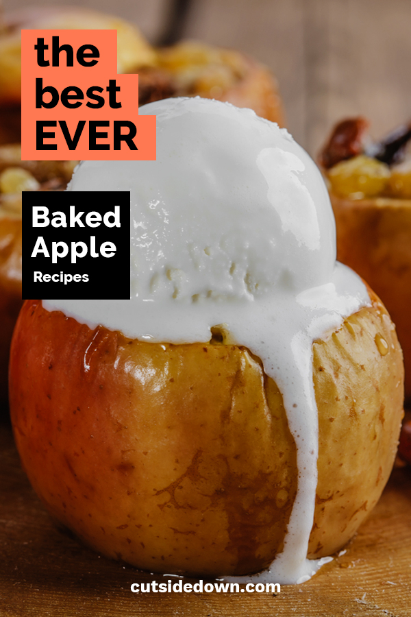 Baked Apples were always a favorite when I was growing up. Mom loved them because they are healthy and easy to make. I loved them because they taste great. Give them a try with any of these delicious baked apple recipes. My guess is they will become a favorite of yours as well.