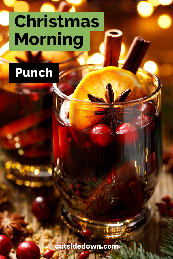 Christmas morning is always exciting especially for kids. The anticipation of what Santa brought is almost too much for them to take. Make their morning even more fun with this delicious Christmas morning punch. It will be a favorite for years. Oh, and we have some adult punch ideas as well. #Christmasmorningpunch #christmasrecipes