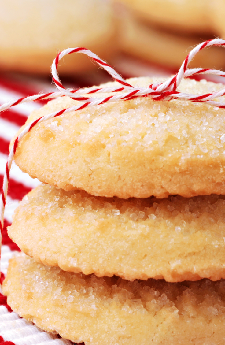 I can be hard to find Christmas desserts that are gluten free but these whipped shortbread cookies are delicious! For more gluten free Christmas desserts, look here!