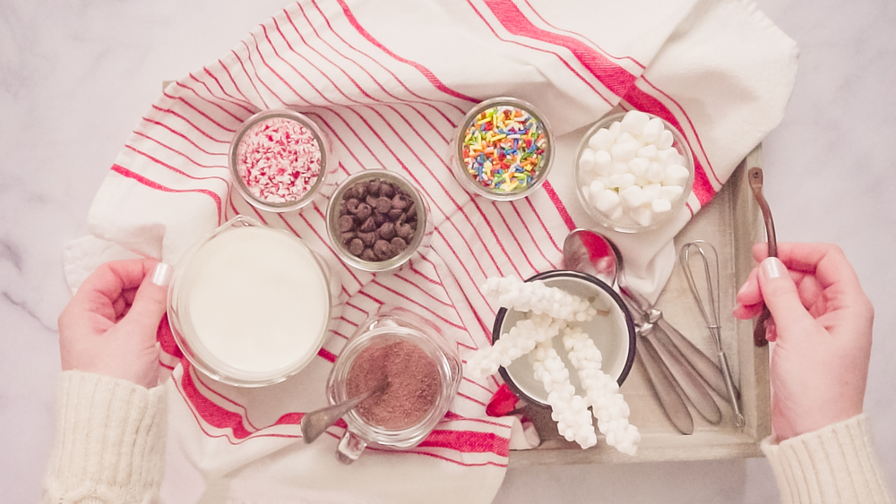 If you're having a hot chocolate bar party, it's important to have the right toppings. Here's a list of our top 10 hot chocolate bar toppings. You'll love them!