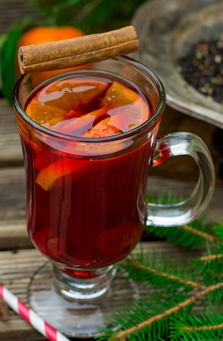 Wassil is a stable in my house around Christmas time, so it's obviously one of my favorite Christmas morning punch ideas. Look here for all of my Christmas morning punch ideas.