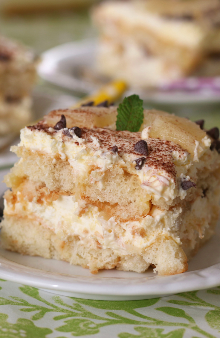 If you've never tried pineapple coconut tiramisu, you are missing out. This twist on a classic is so delicious. It will be your families new favorite dessert!