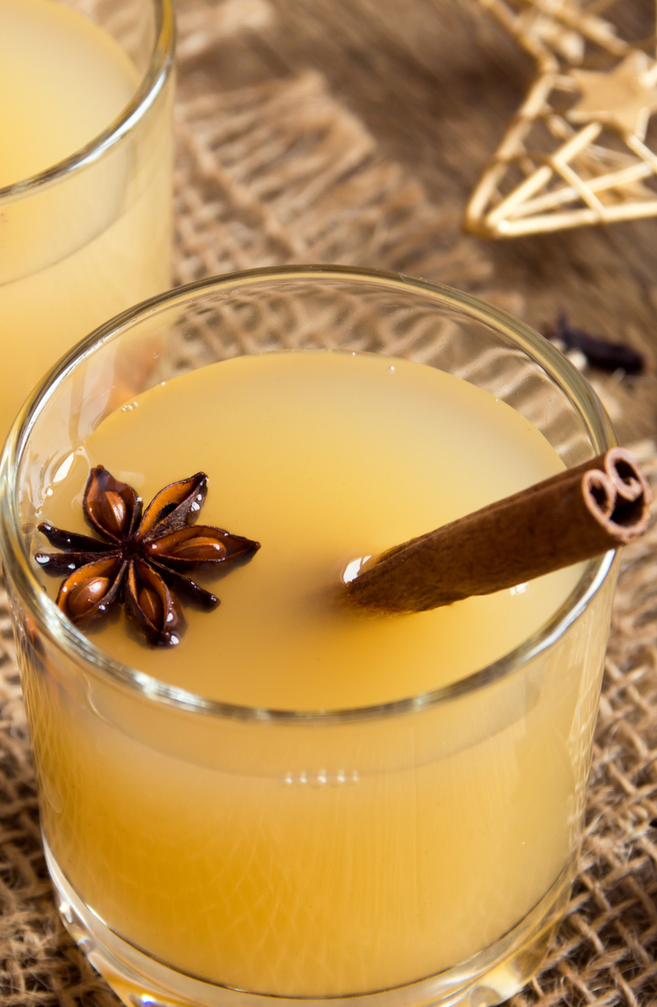 If you're wanting to drink the night away on NYE, then you need to try one of these NYE cocktails. This fireball hot toddy will help keep you warm.