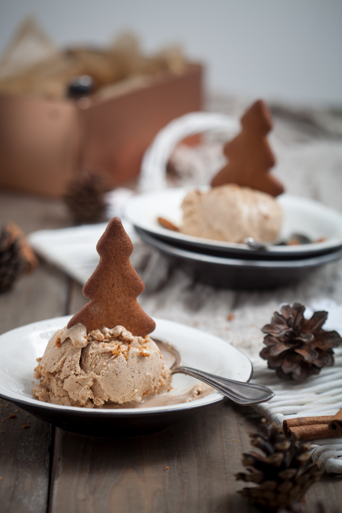 Have you ever tried gingerbread ice cream? It's one of my favorite holiday ice cream flavors. Here is a list of holiday ice cream flavors you can make at home.