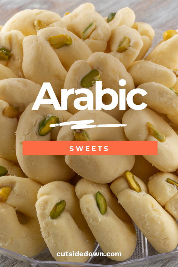 I always love to find desserts that are different. Not the ones you always find at a bakery. That's why we are discussing delicious Arabic sweets. These are fantastic and not your typical doughnut dessert. Step inside the world of Arabic sweets and indulge in the delicious flavor. For Arabic recipes, desserts and cookies, keep reading. #arabicsweets #arabicrecipes #arabicdesserts