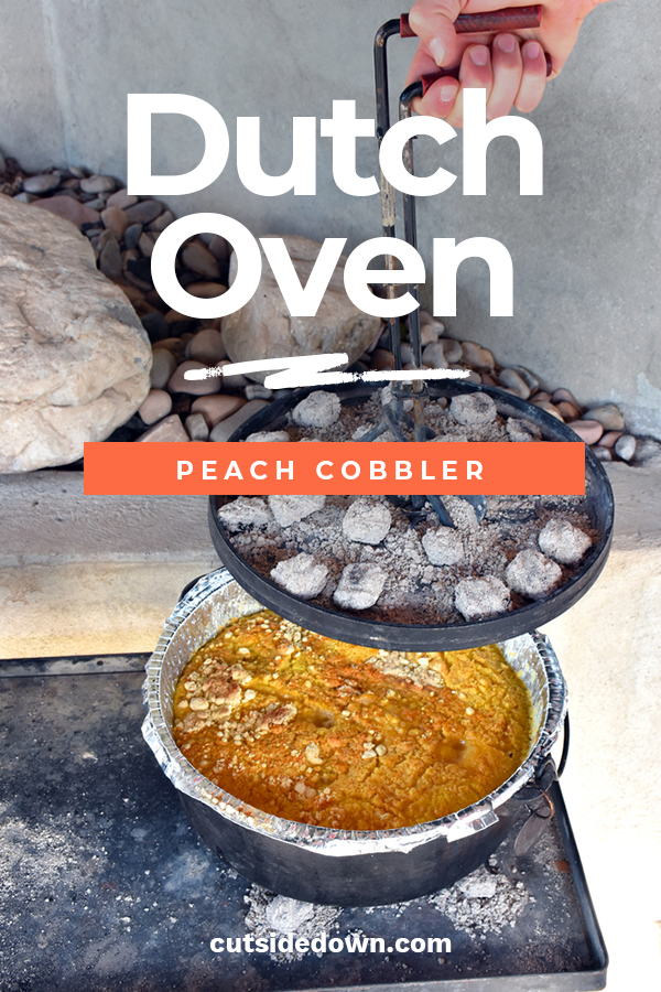 Dutch oven is a staple in American history and if you want some damn good dutch oven cobbler that will go down as the best ever, you need our recipe. This recipe is mouthwatering and so good you will gain weight just think about the lip-licking taste. So, make history in your family with the best dutch oven peach cobbler. #peachcobbler #dutchovendesserts#dutchovenpeachcobbler