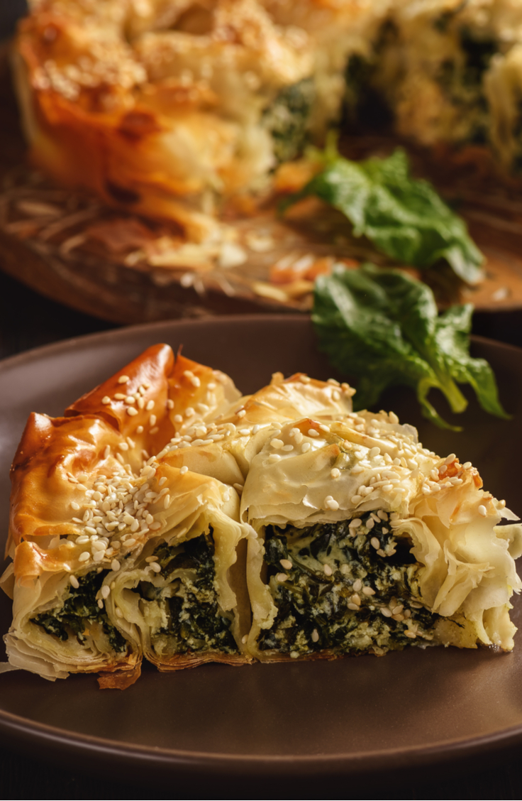 Macedonian food is a mixture between Mediterranian and Greek cuisine. Essentially there is a focus on fresh food paired with fresh grains and fresh meat. Burek is a traditional Macedonian appetizer. For more Macedonian recipes, look here!
