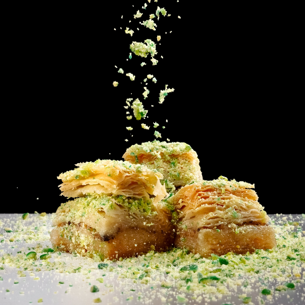 If you haven't checked out Arabic sweets, you're missing out! Arabic desserts have beautiful flavor profiles without being overly sweet. Baklava is one of the most popular Arabic sweet desserts! Check out this delicious recipe for baklava.