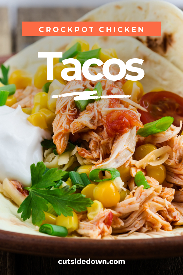 I think the crockpot was one of the greatest inventions, don't you? Honestly, I don't know what I would do without mine. I wanted to share with you a family favorite of ours. Mouth-watering Crockpot chicken tacos. Everybody loves tacos and the crockpot makes them fast and easy. Keep reading to learn about recipes with only three ingredients, how to make these using ranch dressing and or salsa. #crockpotchickentacos #chickentacosrecipes #crockpotrecipes #easycrockpotrecipes