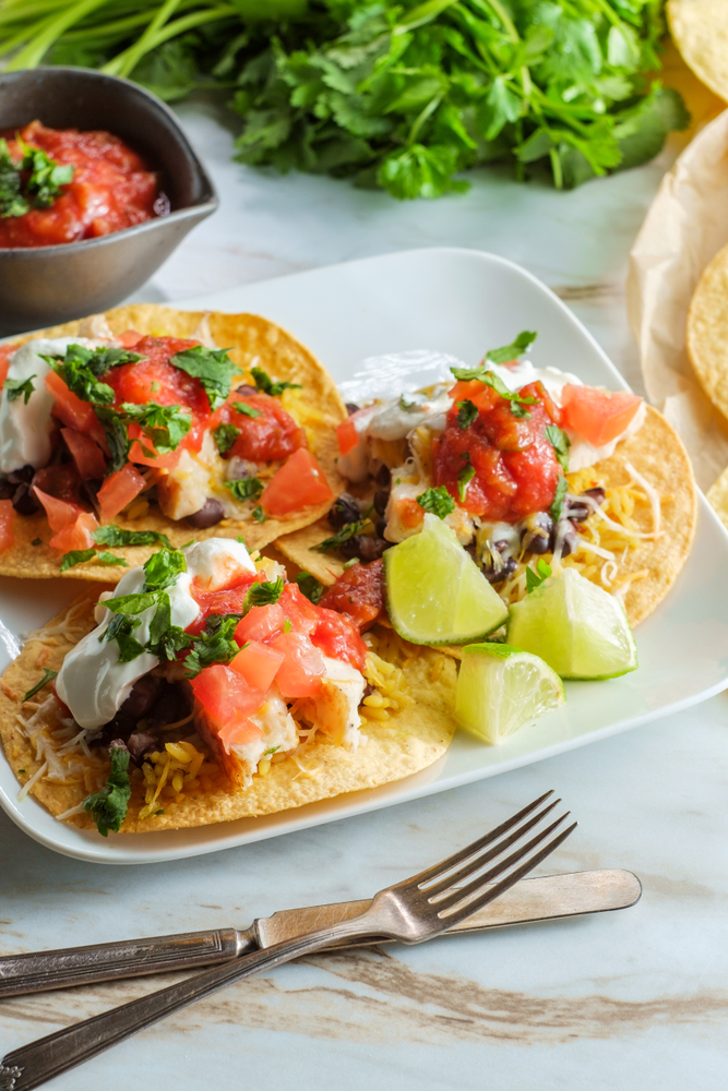 One of my favorite recipes is crockpot chicken tacos! They are easy and scrumptious. Here are some of my favorite Crockpot Chicken Taco Recipes! Try adding salsa to these crockpot chicken tacos! You will love it.