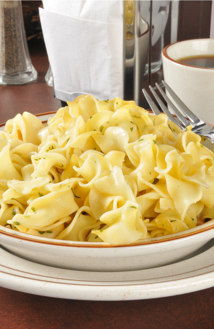 Whether you're a working mom or a stay at home mom, life can get crazy! Hopefully some of these easy dinner recipes for your family will help! These buttered noodles will be a family favorite.